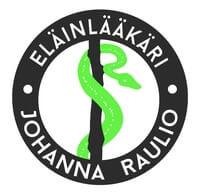 Eläinlääkäri Johanna Raulio logo